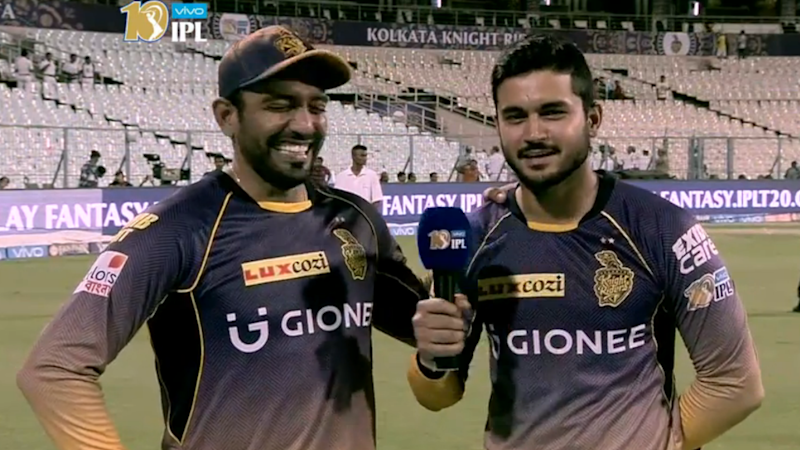 Watch: Robin Uthappa Interviewed by Manish Pandey