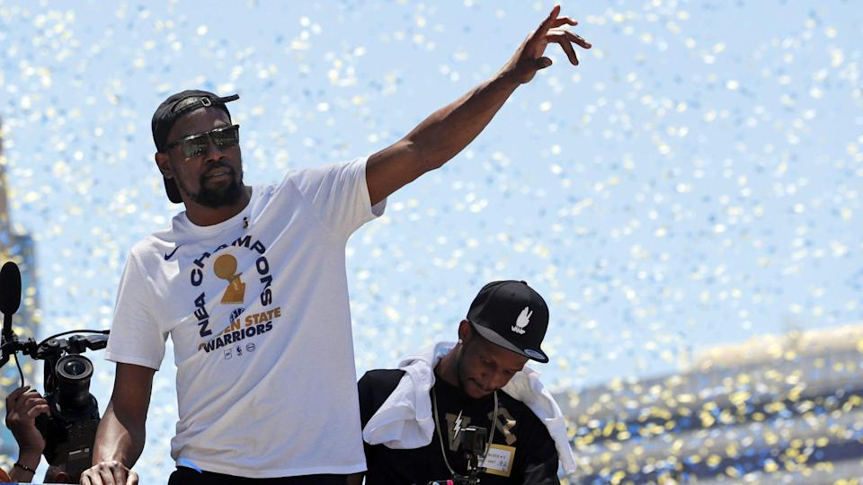 By opting out of the final year of his current contract, Kevin Durant gives himself a few different ways to make maximum money.