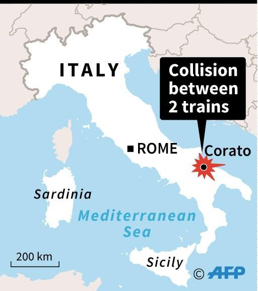 Over 50 percent of Italy's train network is run on single track railway (AFP Photo/)