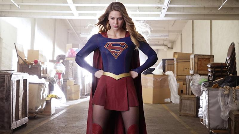 Supergirl ditches the skirt and tights in season 5 (Credit: The CW)