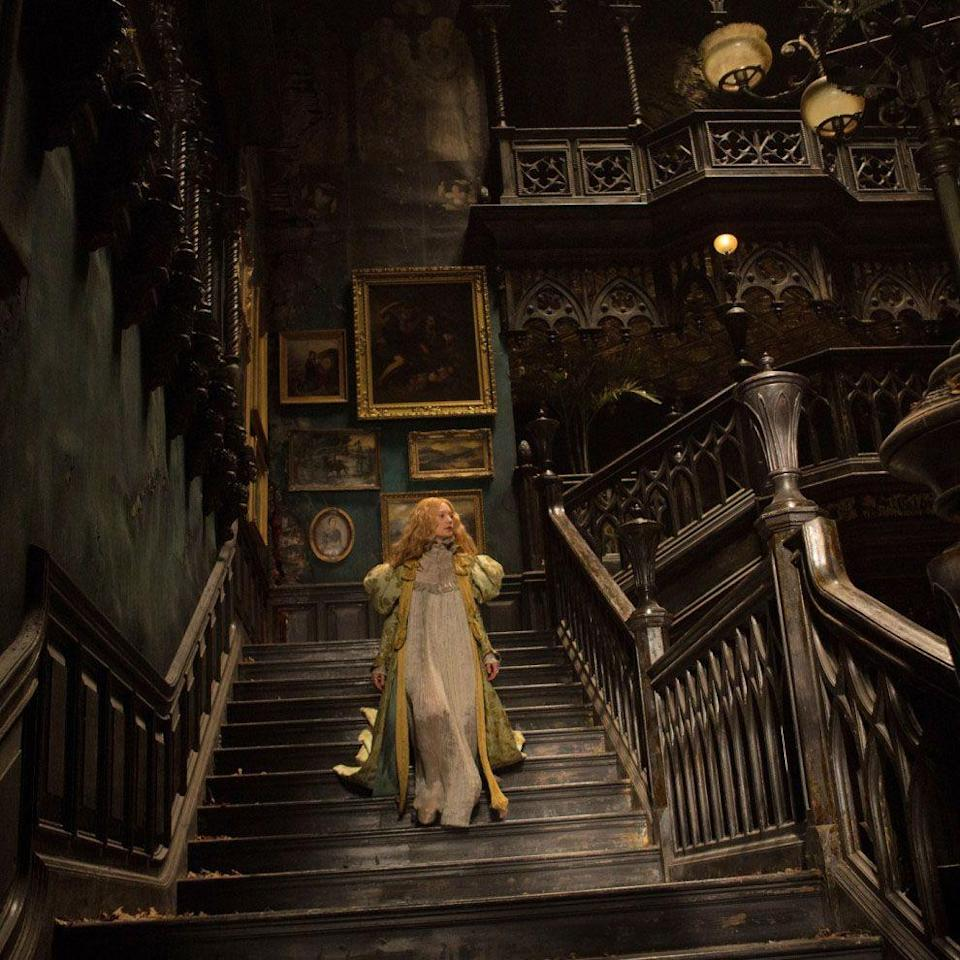 """<p>If you're a fan of Guillermo del Toro's lush cinematography, decaying British manor homes and doomed romance, then you'll want to check out this gothic horror film. It's not your typical scary movie, but it'll creep you out nevertheless.</p><p><a class=""""link rapid-noclick-resp"""" href=""""https://www.netflix.com/title/80050101"""" rel=""""nofollow noopener"""" target=""""_blank"""" data-ylk=""""slk:STREAM NOW"""">STREAM NOW</a></p>"""