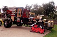 """<p>Crowds gathered at the Halloween Bash 2000 Car Show<span class=""""redactor-invisible-space""""> in Pasadena to see </span>The Munster Koach, which was featured in the popular TV show, <em>The Munsters</em>.</p>"""