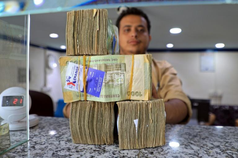 In the rebel-held capital Sanaa, the value of the local currency is substantially stronger in dollar terms than in government-controlled zones
