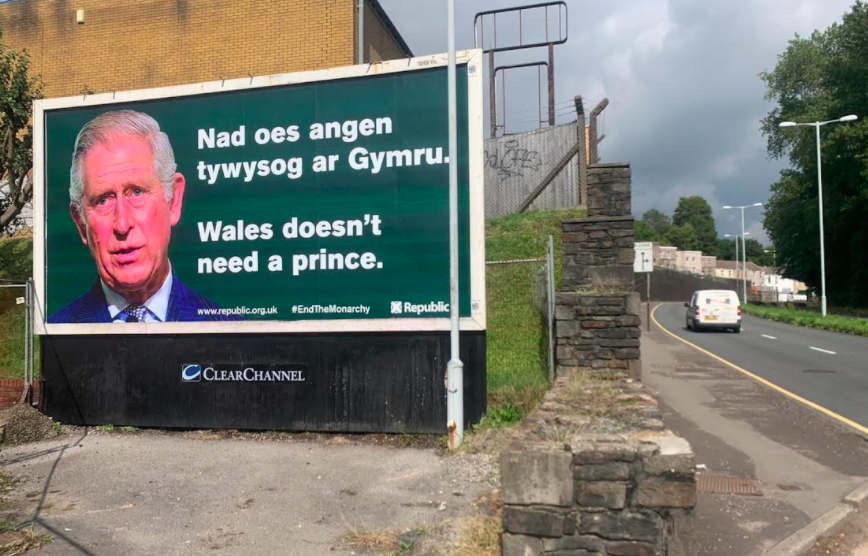 The billboards have been spotted in various places in Wales. (Reach)