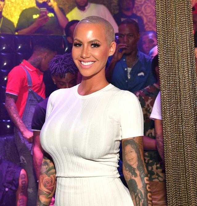 Amber Rose (Photo: Getty Images)