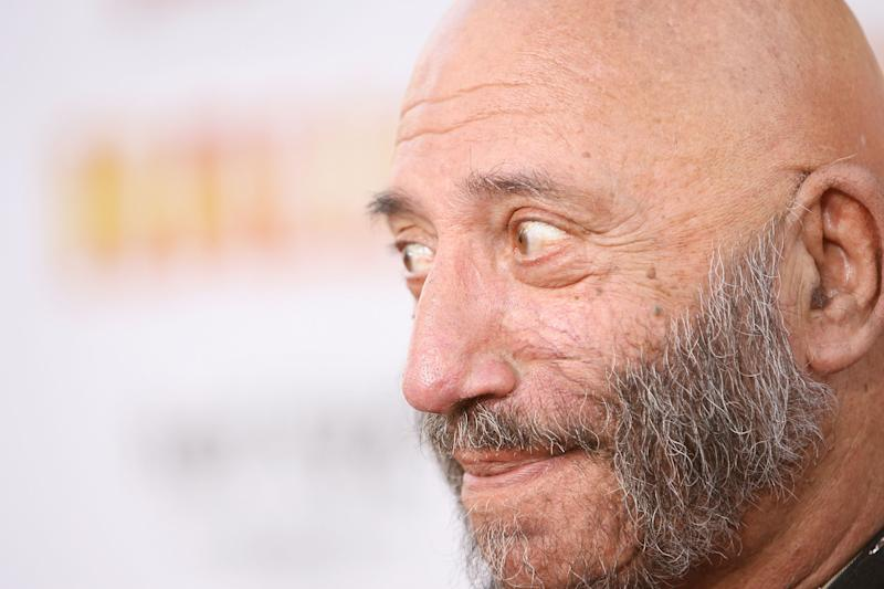 "HOLLYWOOD - AUGUST 23: Actor Sid Haig arrives at the ""Halloween"" Los Angeles Premiere at Grauman's Chinese Theater on August 23, 2007 in Hollywood, California. (Photo by Michael Tran/FilmMagic)"