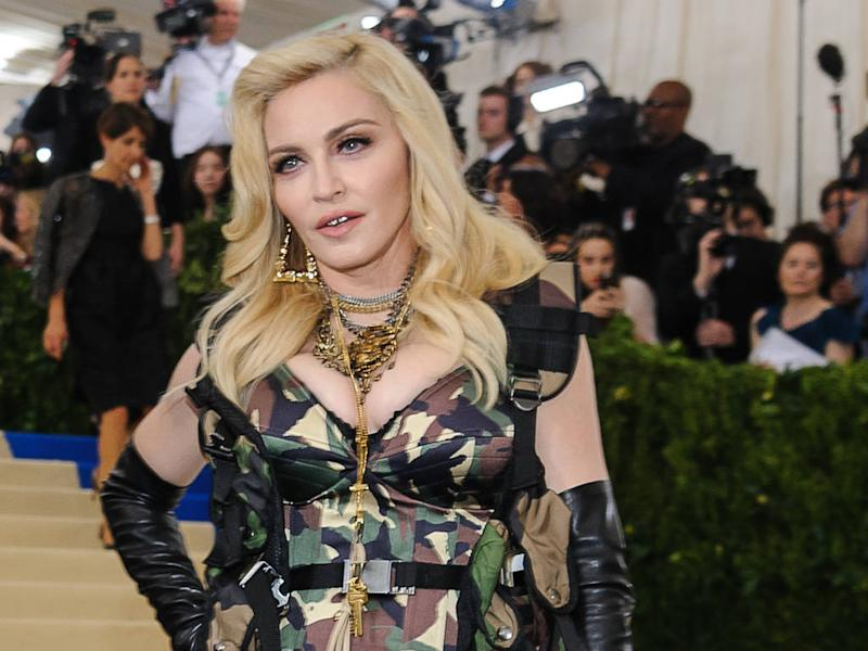 Madonna documents unusual post-show routine on social media