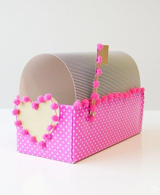 "<p>You've got mail! What better place for Valentine's Day cards than in this cute paper mailbox made from a shoebox and gift wrap?</p><p><strong>Get the tutorial at <a href=""https://www.thinkmakeshareblog.com/diy-valentine-box/"" rel=""nofollow noopener"" target=""_blank"" data-ylk=""slk:Think Make Share"" class=""link rapid-noclick-resp"">Think Make Share</a>.</strong></p><p><strong><a class=""link rapid-noclick-resp"" href=""https://www.amazon.com/slp/heart-wrapping-paper/zan8u4k3odzh4nt?tag=syn-yahoo-20&ascsubtag=%5Bartid%7C10050.g.25844424%5Bsrc%7Cyahoo-us"" rel=""nofollow noopener"" target=""_blank"" data-ylk=""slk:SHOP GIFT WRAP"">SHOP GIFT WRAP</a><br></strong></p>"