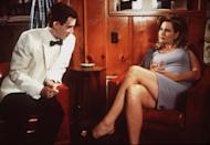 """<p>In <em>American Pie, </em>it was the prom after-party that caught our attention. Specifically, the scene where Stifler's mom """"chaperones"""" in a grey sleeveless sheath dress that is oh-so very '90s.</p><p><a class=""""link rapid-noclick-resp"""" href=""""https://www.amazon.com/American-Pie-Jason-Biggs/dp/B000I9VO0I?tag=syn-yahoo-20&ascsubtag=%5Bartid%7C10063.g.36197518%5Bsrc%7Cyahoo-us"""" rel=""""nofollow noopener"""" target=""""_blank"""" data-ylk=""""slk:STREAM NOW"""">STREAM NOW</a></p>"""