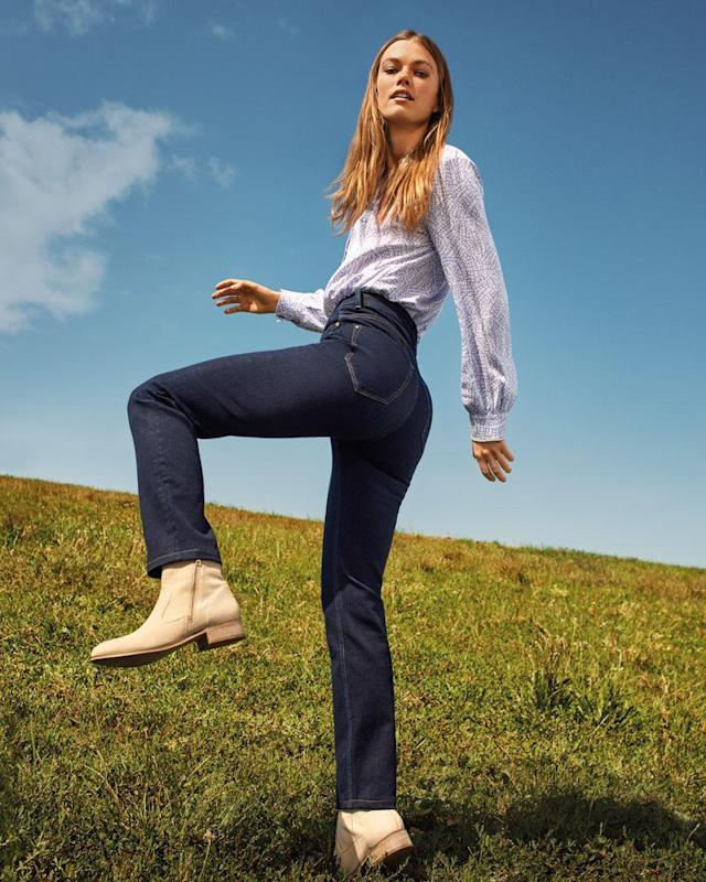 M&S' magical jeans come in three different styles. (Marks and Spencer)