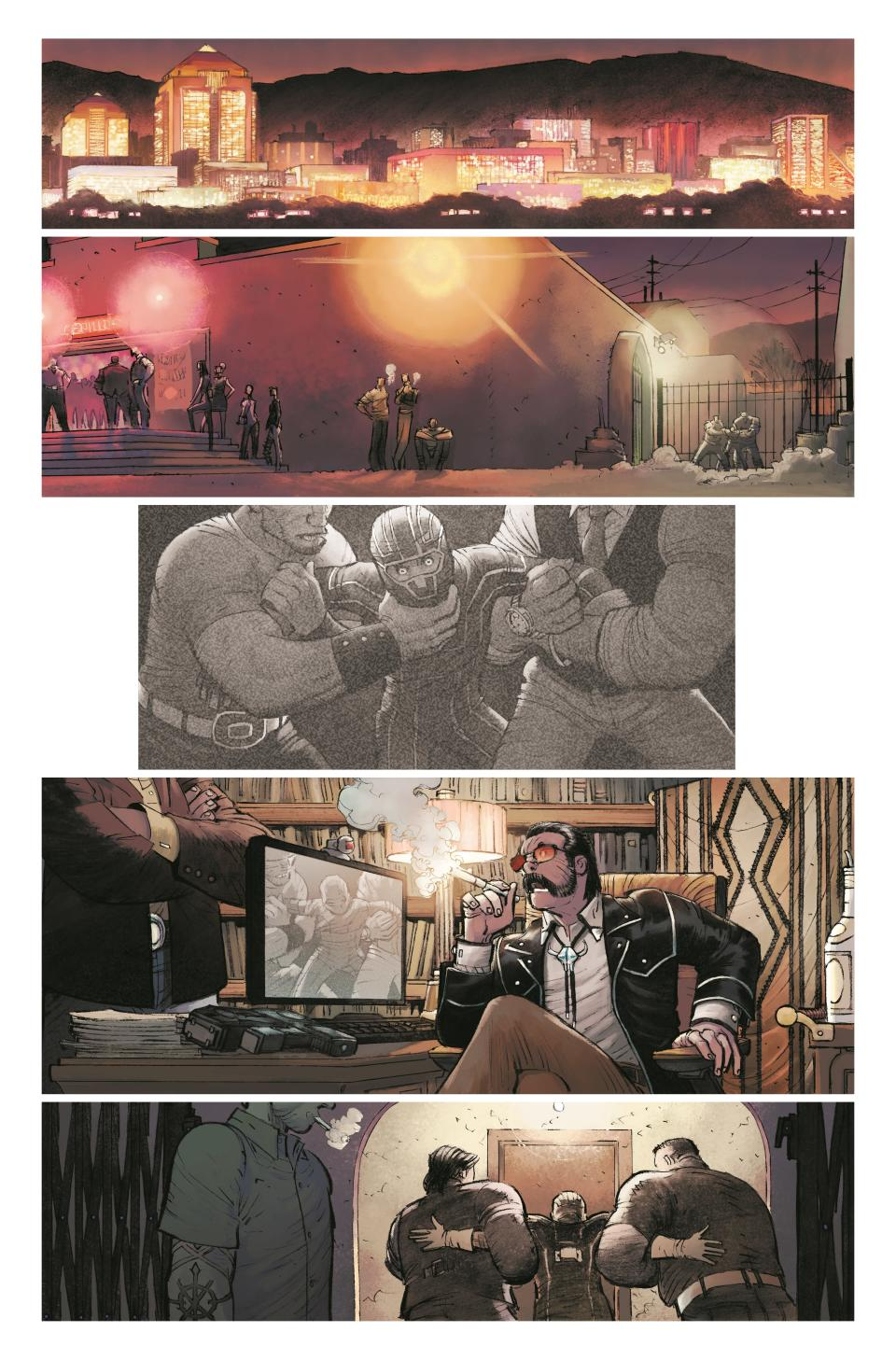 Patience Lee begins her crime fighting career by taking on Albuquerque, New Mexico's criminals (Image Comics)