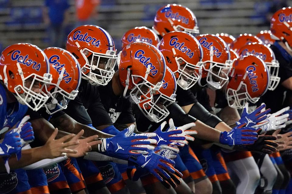 The Gators welcome top-ranked Alabama to The Swamp.