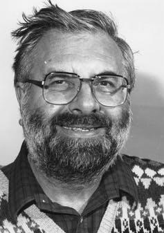 A black-and-white headshot of philosopher Brian Barry.