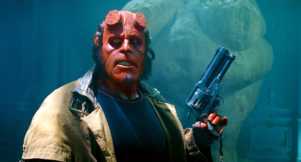 Ron Perlman in Hellboy 2 (Credit: Universal Pictures)
