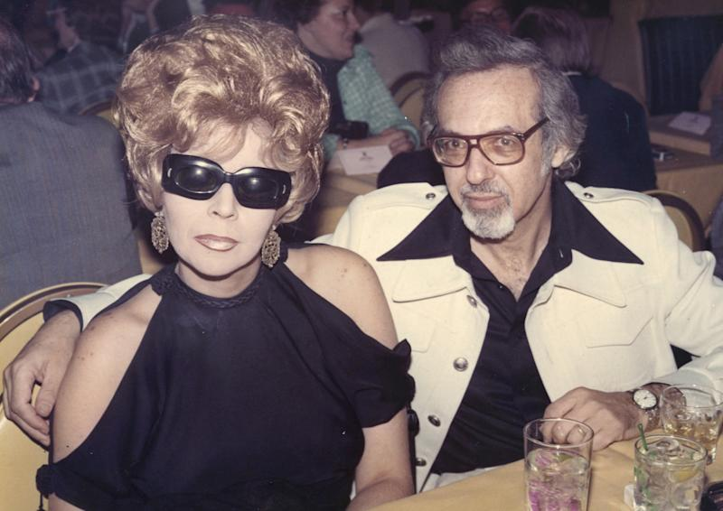 """FILE - This handout photo provided by Magnolia Pictures shows Linda and Burt Pugach in 1974. The two are the subject of the movie, """"Crazy Love."""" Linda Pugach, who was blinded in 1959 when her lover hired hit men to throw lye in her face and became a media sensation after later marrying him died Tuesday, Jan. 22, 2013 in New York. She was 75. (AP Photo/ Photo courtesy of Magnolia Pictures and Shoot the Moon Productions, file)"""