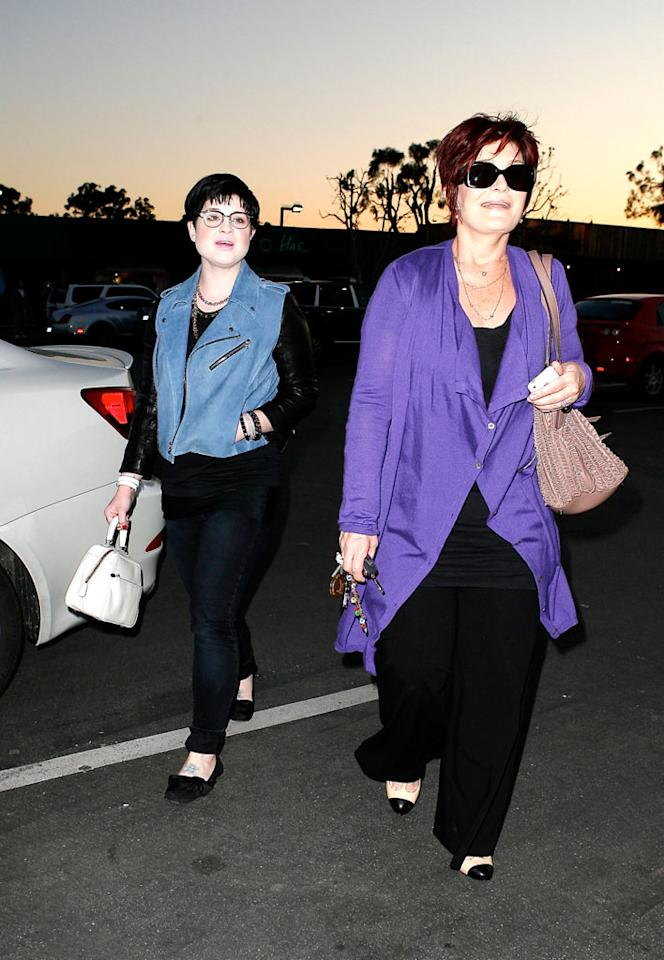 """Now that Kelly Osbourne is apparently out of rehab, she and her mom Sharon can get back to their favorite pastime: shopping. AKM/<a href=""""http://www.x17online.com"""" target=""""new"""">X17 Online</a> - February 19, 2009"""