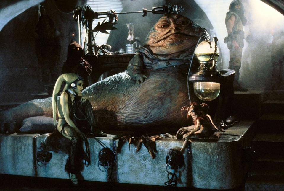 Rumours are circulating that Jabba the Hutt might appear in Episode 9 (credit: LucasFilm)