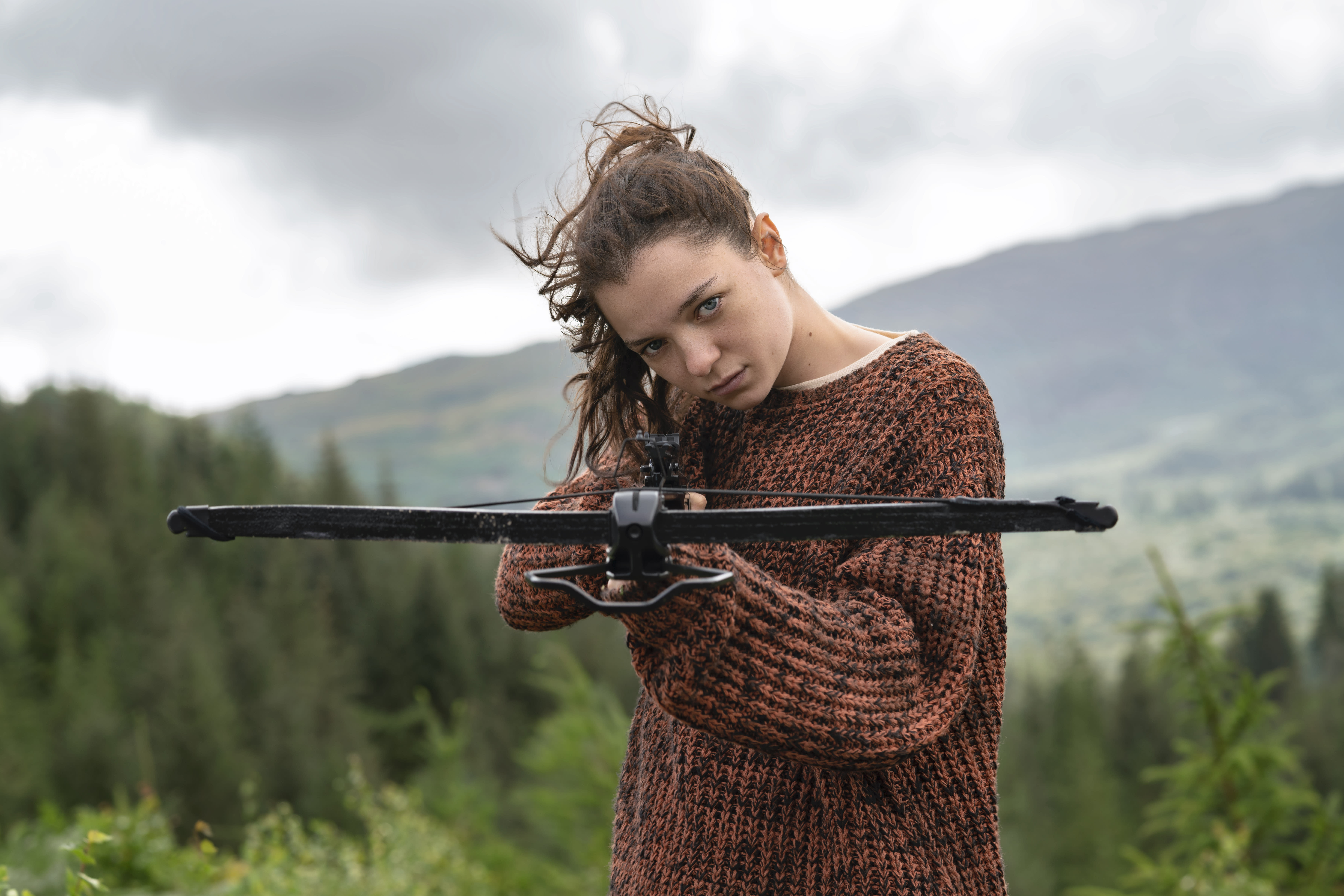 Esme Creed-Miles as Hanna in the second seaon of <i>Hanna</i>. (Amazon Prime Video)