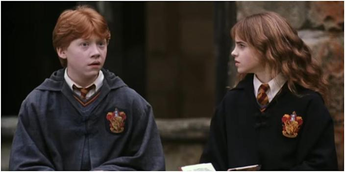 Ron's shabby robes