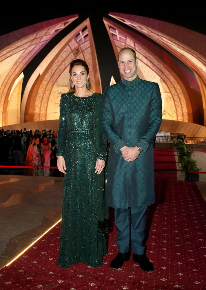 Kate Middleton and Prince William in Pakistan | Chris Jackson - Pool/Getty