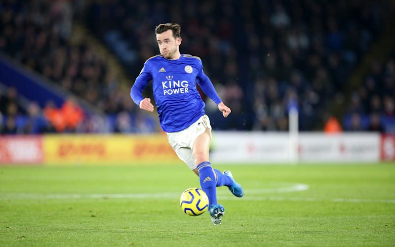 Ben Chilwell of Leicester City during the Premier League match between Leicester City and Everton FC at King Power Stadium on December 1st - Getty Images