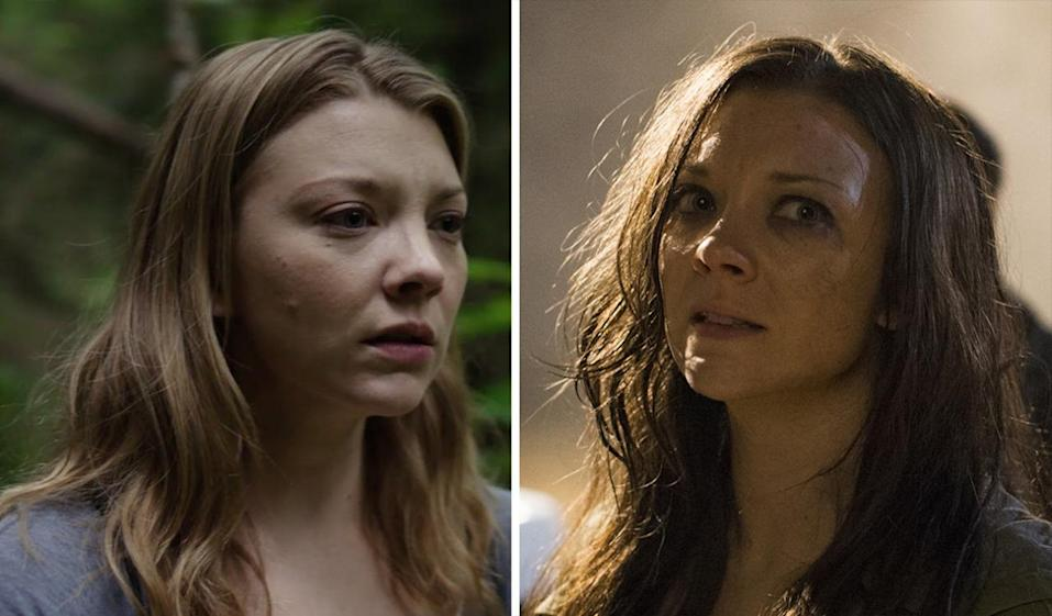 <p>Dormer plays Sara Price (left), an American woman who travels to a haunted Japanese forest to find for her twin sister Jess (right), who has gone missing. She's forced to wade through a woodland full of tormented souls during her emotionally charged quest. <i>(Photo: Gramercy Pictures/ <i>James Dittiger)</i></i><br></p>