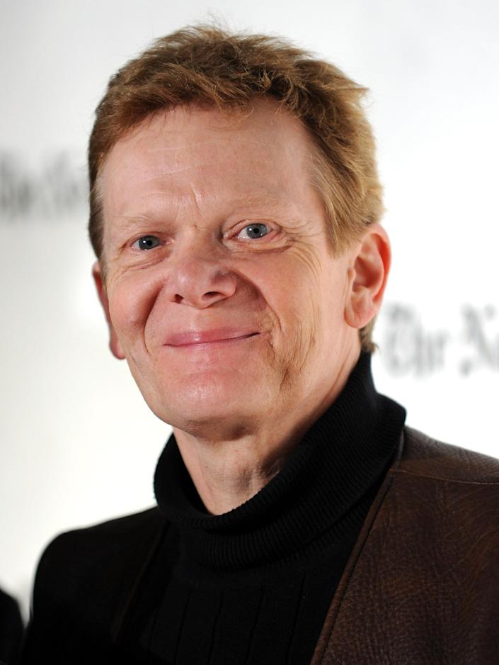 Former tightrope walker Philippe Petit attends the Gotham Independent Film Awards at Cipriani Wall Street on Tuesday, Dec. 2, 2008 in New York. (AP Photo/Evan Agostini)
