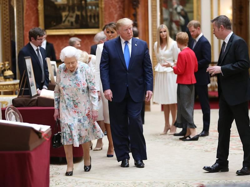 Donald Trump and Prince Harry