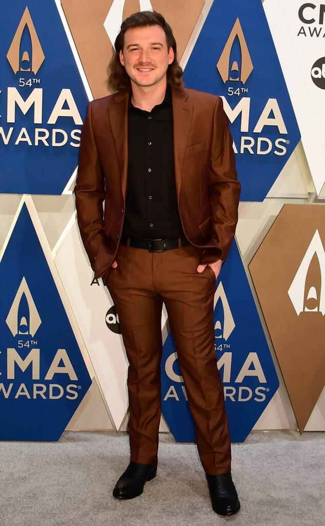 Morgan Wallen, 2020 CMA Awards, Red Carpet Fashions