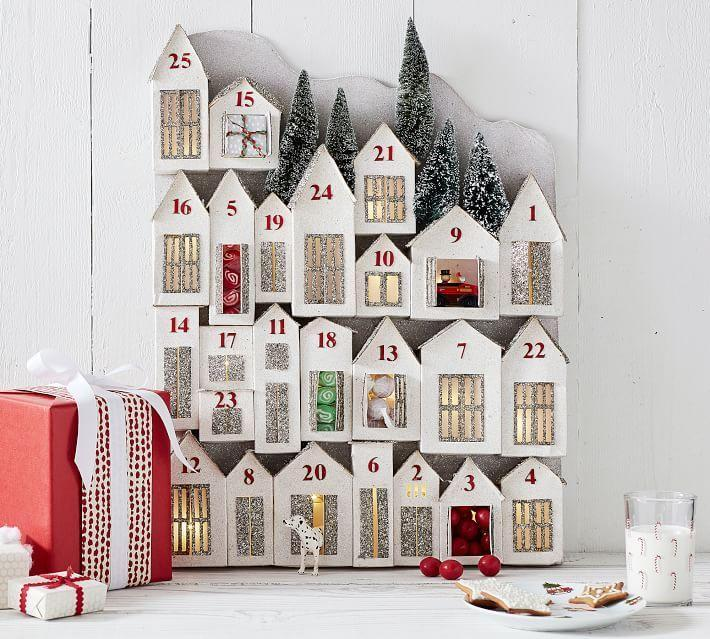 "<p>potterybarn.com</p><p><strong>$129.00</strong></p><p><a href=""https://go.redirectingat.com?id=74968X1596630&url=https%3A%2F%2Fwww.potterybarn.com%2Fproducts%2Fglitter-lit-houses-advent-calendar%2F&sref=https%3A%2F%2Fwww.housebeautiful.com%2Fshopping%2Fg34426352%2Fpottery-barn-christmas-collection-2020%2F"" rel=""nofollow noopener"" target=""_blank"" data-ylk=""slk:BUY NOW"" class=""link rapid-noclick-resp"">BUY NOW </a></p>"