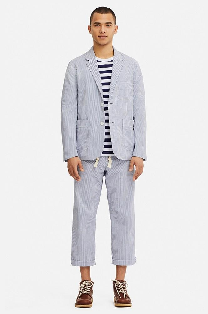 d715ef2e62427 JW Anderson and Uniqlo Will Make You Believe in the Seersucker Suit Again