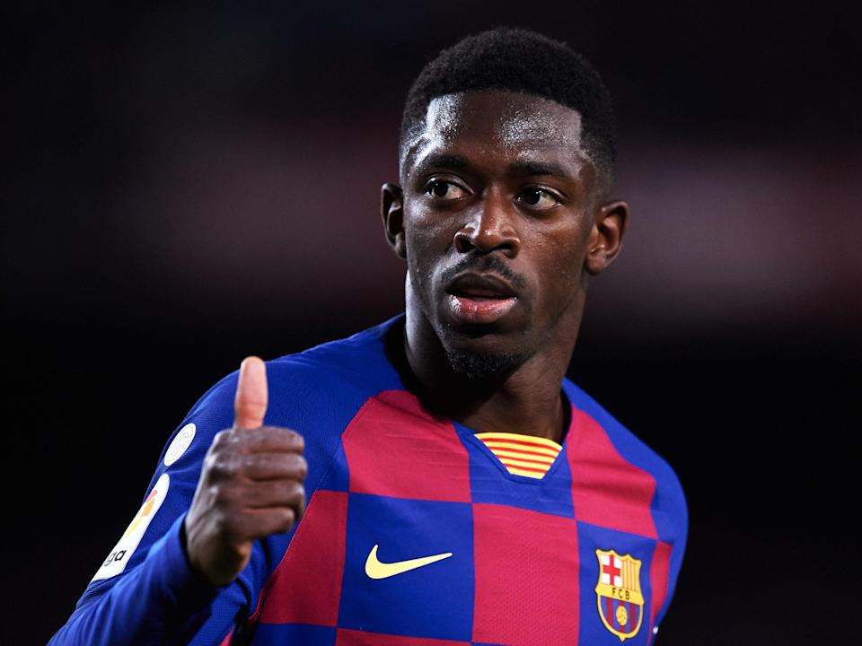 Barcelona forward Ousmane Dembélé (Getty Images)
