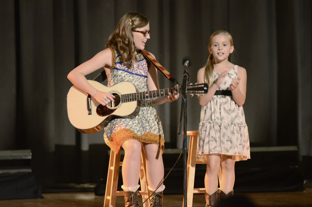 "Lennon Stella and Maisy Stella in the ""Nashville"" episode, ""Someday You'll Call My Name."""