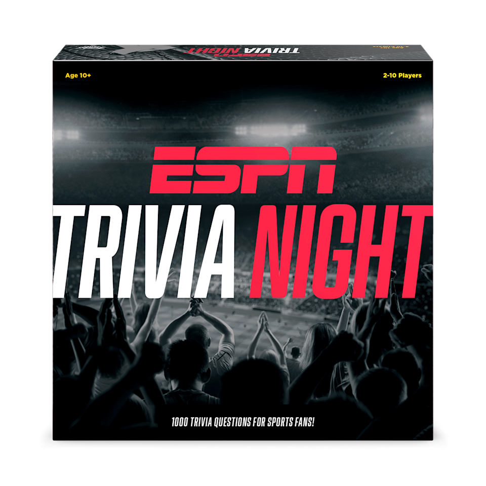 Funko Games's new trivia game, ESPN Trivia Night, is available April 30. (Photo: Funko Games)