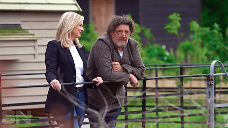 Marco Pierre White at his country estate Rudloe Arms.