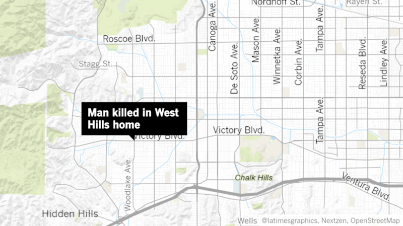 A woman was arrested after admitting to killing a man and setting a home on fire in West Hills on Monday, police said.