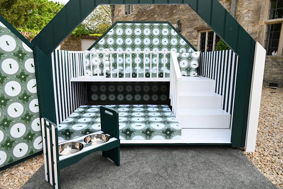 The dog house features several simple home improvements that can benefit the long-term health and wellbeing of pets. (YuMOVE/Doug Peters/PA Wire)