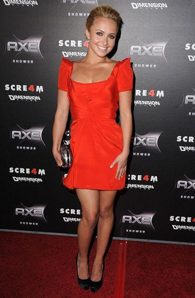 Hayden took to the blood red carpet this week for the