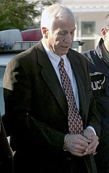 Jerry Sandusky is charged with 40 counts of sexual abuse of minors