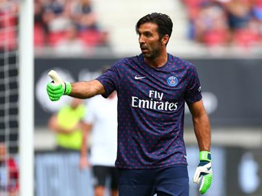 Champions League: Gianluigi Buffon believes Paris Saint-Germain 'need time' to challenge for European title