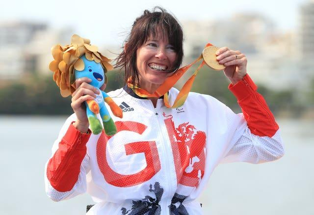Great Britain's Jeanette Chippington won gold in Rio