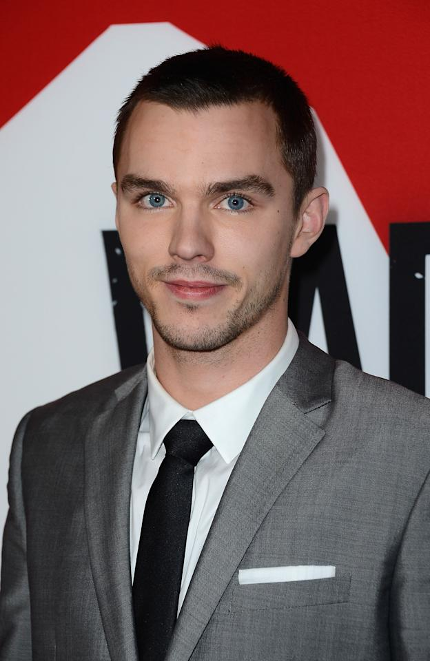 "HOLLYWOOD, CA - JANUARY 29:  Actor Nicholas Hoult arrives at the premiere of Summit Entertainment's ""Warm Bodies"" at ArcLight Cinemas Cinerama Dome on January 29, 2013 in Hollywood, California.  (Photo by Frazer Harrison/Getty Images)"