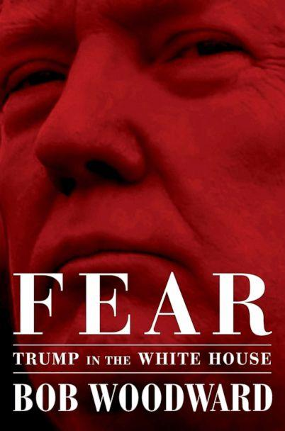 PHOTO: 'Fear: Trump in the White House,' by Bob Woodward. (Simon & Schuster via AP)