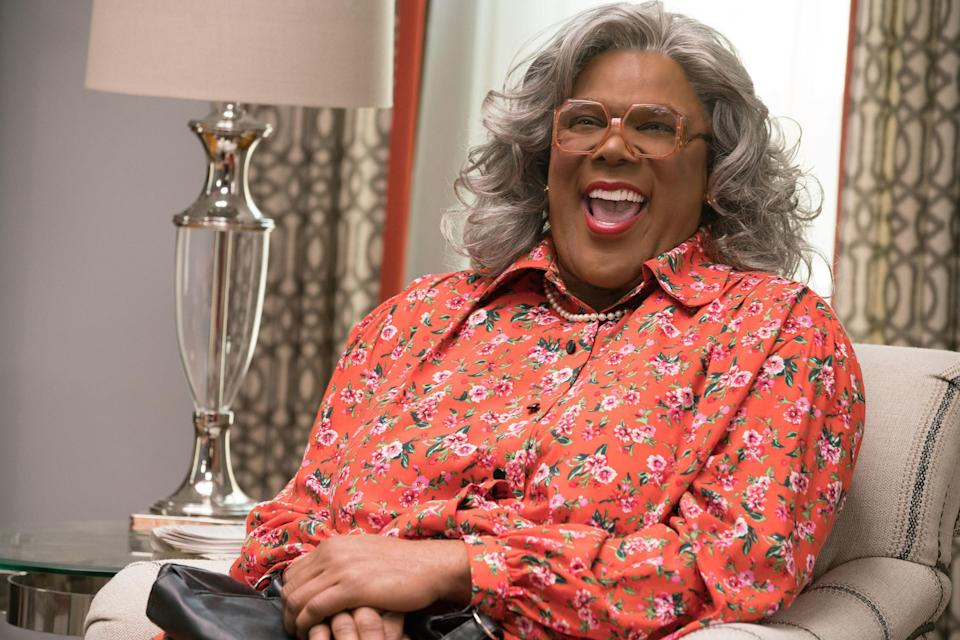 Madea laughing