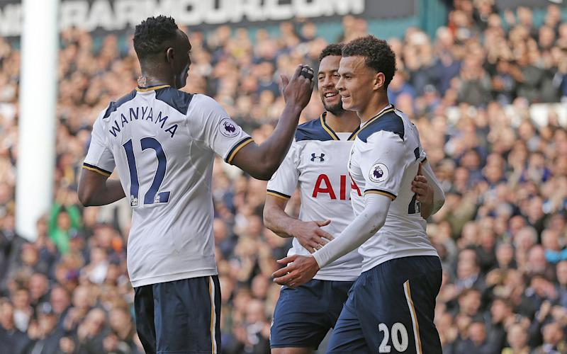 Spurs maintained their superb home record on Sunday - Copyright (c) 2017 Rex Features. No use without permission.