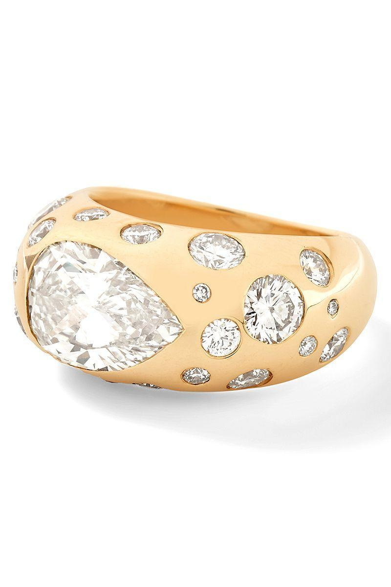 "<p>Vintage inspired engagement rings are another great option if you love that old-world charm, but are looking to re-set a family heirloom into something new. Or, perhaps you are simply after a new ring with more modern stones and a historic feel.</p><p> Alison Lou's <a href=""https://www.harpersbazaar.com/wedding/bridal-fashion/a34838964/alison-lou-bridal-collection/"" rel=""nofollow noopener"" target=""_blank"" data-ylk=""slk:newly-released bridal collection"" class=""link rapid-noclick-resp"">newly-released bridal collection</a> is designed to craft any of their featured rings with family stones provided by the buyer. Other jewelers use vintage stones in modern settings—and vice versa, setting new stones in older metal settings. Whichever you choose, vintage (or vintage-inspired) rings are as beautiful as they are timeless. <em><strong><br></strong></em><em><strong><br></strong></em><em><strong>Alison Lou</strong> The Babs Ring, price upon request, <a href=""https://www.alisonlou.com/pages/bridal"" rel=""nofollow noopener"" target=""_blank"" data-ylk=""slk:alisonlou.com"" class=""link rapid-noclick-resp"">alisonlou.com</a></em></p><p><a class=""link rapid-noclick-resp"" href=""https://www.alisonlou.com/pages/bridal"" rel=""nofollow noopener"" target=""_blank"" data-ylk=""slk:SHOP"">SHOP</a></p>"
