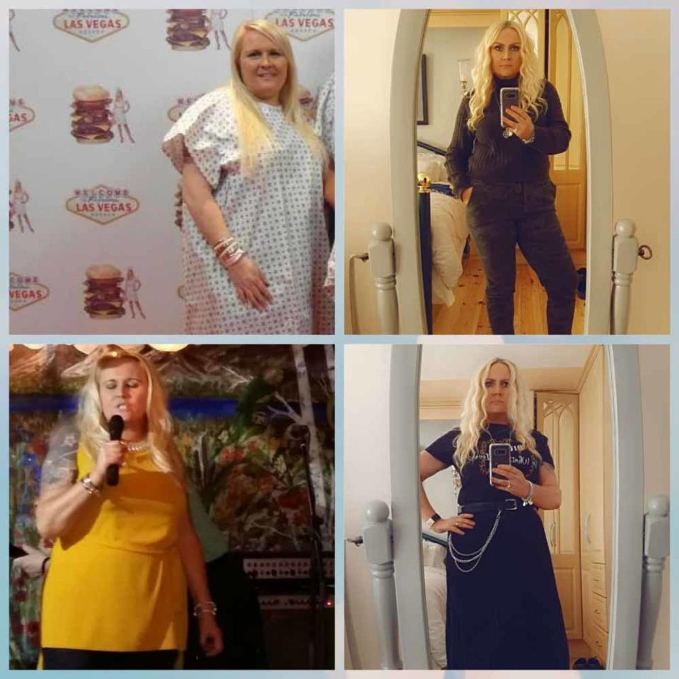 Harriet's is so proud after losing six and a half stone with Slimming World (Collect/PA Real Life).