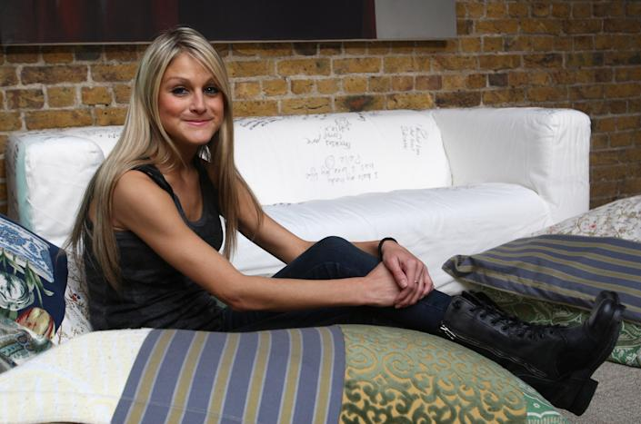 LONDON, ENGLAND - MAY 10:  Nikki Grahame attends the press call ahead of tonight's performance of real life stories about body image 'Body Gossip' at The Hub on May 10, 2009 in London, England.  (Photo by Danny Martindale/WireImage)