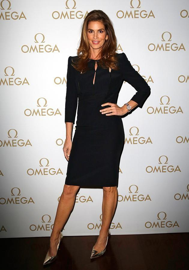 Crawford is in Sydney for promotional purposes with luxury watch band Omega. Photo: Getty