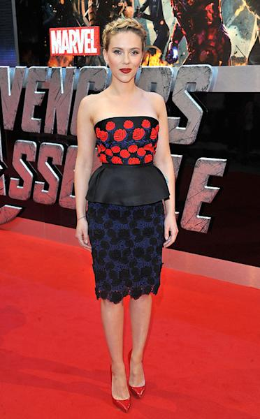 The Avengers UK Premiere